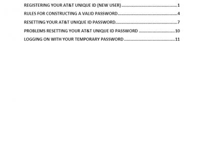 ATTUID login instructions